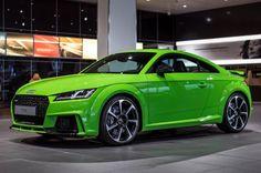 tt rs 2016 | El Audi TT RS 2016 se viste de Verde Lima - Periodismo del Motor