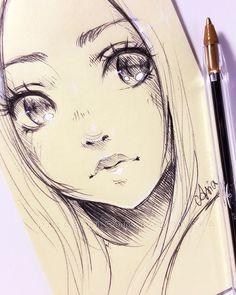 Sticky note doodle