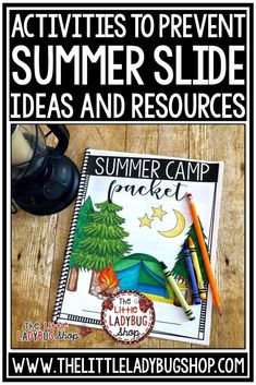 Avoid the Summer Slide with these Summer Activities for 3rd grade, 4th grade, and home school kids. #summeractivitiesforkids #summerslideactivities