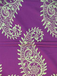 Cute...vibrant Paisley Design, Paisley Pattern, Spirals, Drapery Fabric, Motifs, Making Ideas, Embroidery Patterns, Fabric Design, Berry