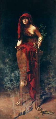 Priestess of Delphi (Collier)