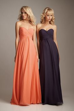 Love these!!! Not necessarily these colors..i love the purple! But the style of the dress is AMAZING!