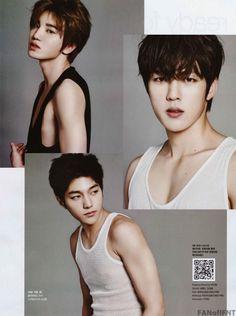 INFINITE F – Cosmopolitan Magazine January 2015 Issue ♡