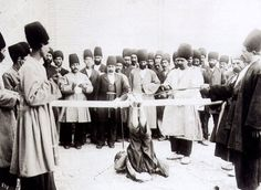 Antoin Sevruguin 12 Falak Whipping the soles of a criminal - Public humiliation - Wikipedia, the free encyclopedia