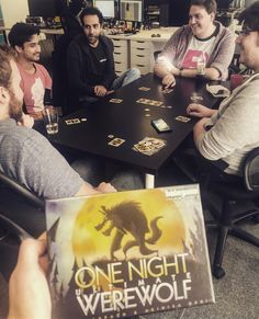 One Night Ultimate Werewolf was today's choice... 🤓 . . . #BGG #Games #Gamer #BoardGames #BoardGame #Gaming #Game #GameGirl #Gamers #TableTopGaming #TableTopGame #TableTopGames #PlayToWin #GameAddict #LunchtimeFun #FunTimes #OfficeFun #BoardGaming #OneNightWereWolf #Weekend #FriYay #FridayFeeling #LoveGames #GamePlay #PlayGames #AddictedToGaming