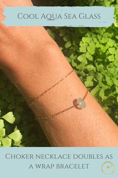 Genuine sea glass and gold necklace, handmade with love. Sea Glass Necklace, Sea Glass Jewelry, Gold Necklace, Jewelry Shop, Jewelry Making, Dainty Gold Jewelry, Delicate, Lovers, Inspired