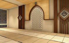 Perencanaan Desain Interior Pesantren Bratang Gede. Mushola 1 . http://goo.gl/nQcZiA