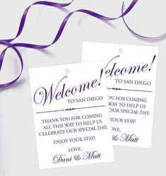 Set of 10 Gift Tags for Wedding Hotel by GrandDesignsbyJoanna Wedding Guest Bags, Wedding Tags, Wedding Welcome Bags, Wedding Favours, Our Wedding, Wedding Gifts, Wedding Stuff, Wedding Events, Wedding Ideas