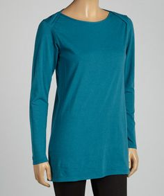 Look what I found on #zulily! Cadet Organic Boatneck Tee - Women by Blue Canoe #zulilyfinds