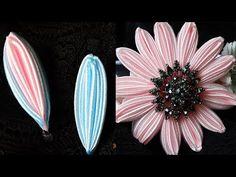 Новый Лепесток Канзаши/2 способа/New Petal kanzashi - YouTube Satin Flowers, Flower Petals, Fabric Flowers, Paper Flowers, Hobbies To Try, Hobbies And Crafts, Kanzashi Flowers, Ribbon Art, Flower Tutorial