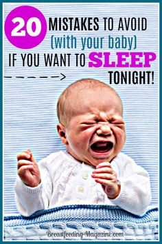 Having Baby Sleep Problems? Top 20 mistakes that parents make that ruin their baby's sleep. Get baby to sleep through the night instead. Help Baby Sleep, Toddler Sleep, Get Baby, Baby Boy, Gentle Parenting, Parenting Tips, Parenting Toddlers, Baby Sleep Schedule, Sleeping Through The Night