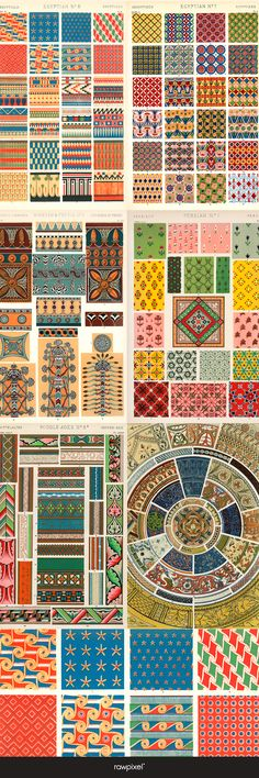The Grammar of Ornament by Owen Jones | Free Public Domain | Ornament & Pattern collection