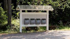 puinen postilaatikkoteline - Google-haku Mailbox, Haku, Google, Outdoor Decor, Home Decor, Homemade Home Decor, Post Box, Mail Boxes, Interior Design