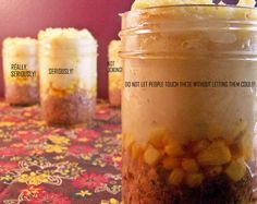 Shepherd's Pie in a Jar. This could be amazing for a St.Patrick's Day box!! I wonder if they would stay good like the cakes...