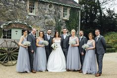 Tracy and Derek's Vintage Hollywood Glamour Wedding- They chose the perfect backdrop at Village at Lyons, Kildare. Hollywood Glamour Wedding, Vintage Hollywood, Wedding Destinations, Destination Wedding, Vow Renewal Ceremony, Bridesmaid Dresses, Wedding Dresses, Love Story, Ireland