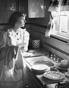 I like a window above my kitchen sink, because the work goes so much faster with a good view to gaze upon.