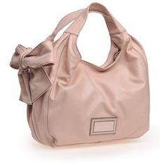 SWEET CREME - bowed purse