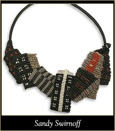 macrame - necklace - love this!
