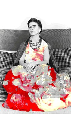 "the-eternal-moonshine: "" Frida Kahlo (all my gifs are here) """