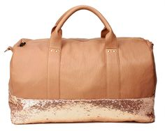 Oh, to have this duffle bag!