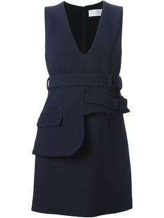 Shop Victoria Victoria Beckham double belt dress in The Shop at Bluebird from the world's best independent boutiques at farfetch.com. Shop 300 boutiques at one address.