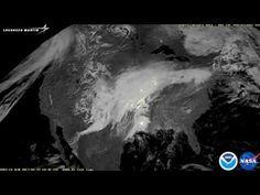 APOD: 2017 May 15 - Lightning Storm Moves Across the USA