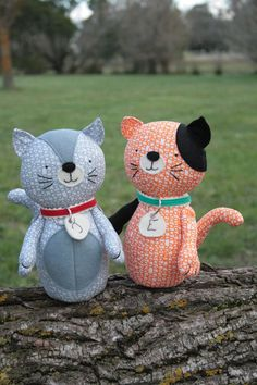 Jude & Eloise: A cat PDF sewing pattern