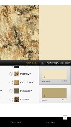 Cambria bradshaw countertop this is what i chose for my for Benjamin moore rich cream