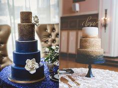 Navy and Gold Wedding «  Wedding Invitations   Soumya's Invitations