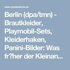 Berlin (dpa/tmn) - Brautkleider, Playmobil-Sets, Kleiderhaken, Panini-Bilder: Was fr�her der Kleinanzeigenteil in der Zeitung war, sind heut