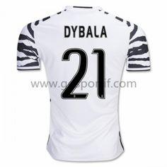 maillot de foot Series A Juventus 2016-17 Dybala 21 maillot third