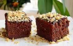 Negresă de post cu gem și nuci. O prăjitură cu gust divin ce te va cuceri instant de la prima degustare!