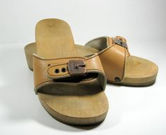 Dr Scholls exercise sandals - I had a pair in white.