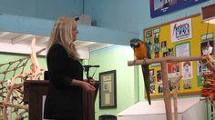 Part 1 - Target Training B&G Macaw with Barbara Heidenreich at Rodies Fe...