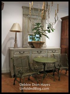 Get this look with Paris Grey Chalk Paint™...Discovering the Shop Antiques de Provence in the New Orleans French Quarter