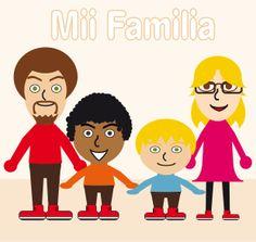 Mii familia Juan, Miguel, Carmen y Yo