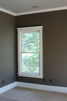Molding around windows