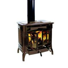 USA Made|Stoves and Accessories|HearthStone Bennington Wood Heat Stove - Lehmans.com