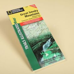 Waterproof National Geographic Map of Great Smoky Mountains National Park