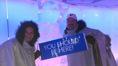 Even in an ice bar ... YSBH!