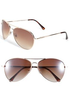 Aviator sunglasses- $12.00 in Nordstrom Junior's dept!