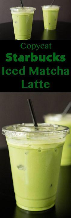 Starbucks Iced Matcha Latte Recipe: