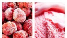 Báječná zmrzlina ze zmrazených jahod