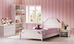 Cuartos juveniles color rosa