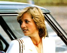 August 15, 1981: Diana at RAF Lossiemouth upon arriving in Scotland from Egypt. Prince & Princess of Wales were headed to Balmoral Castle to continue their honeymoon.