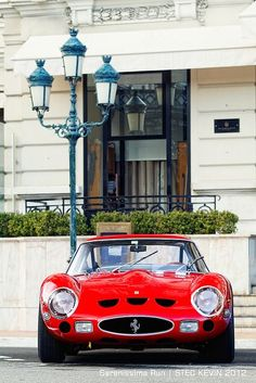 Vintage Ferrari 250 GTO. See our Greatest Cars feature on this car on in2motorsports.com