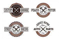 Vector Auto Emblems from DesignBundles.net