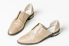 30 Perfect Spring Flats To Slip Into Now #refinery29  http://www.refinery29.com/flat-shoes-for-spring#slide-7  No S.F. closet is complete without a pair of Freda Salvadors.