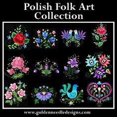 Golden Needle Designs Polish Collection www.goldenneedledesigns.com