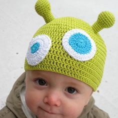 Kamarád z Marsu Knitting Needles, Crochet Hooks, Beanie, Creative, Crochet, Beanies, Beret